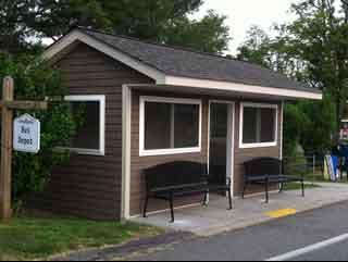 Bus Stop at Springvale