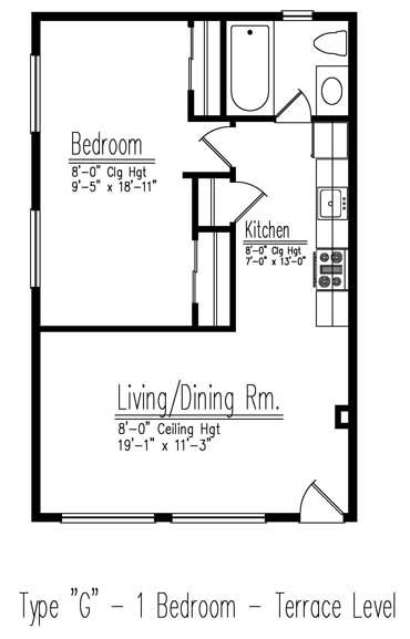 Type G floor plan